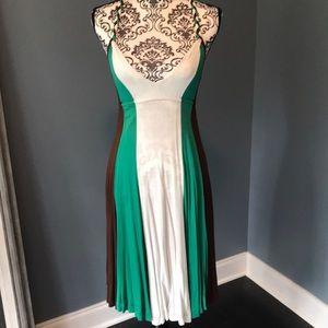 Zara Colorblock midi dress size S